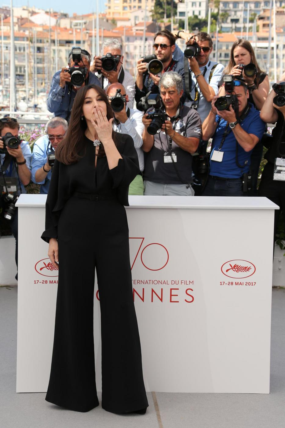 Monica Bellucci, Mistress Of Ceremonies posing at a photocall held at the Palais des Festivals in Cannes, France on May 17, 2017, as part of the 70th Cannes Film Festival. Photo by David Boyer/ABACAPRESS.COMAbacaPress/LaPresseOnly Italy 592932