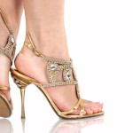 Gold-Shoes-Talincang-For-Wedding