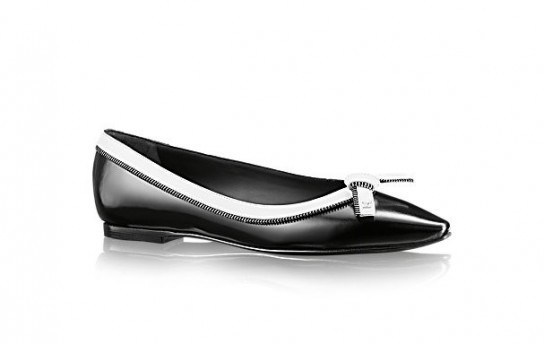 Ballerine black & white