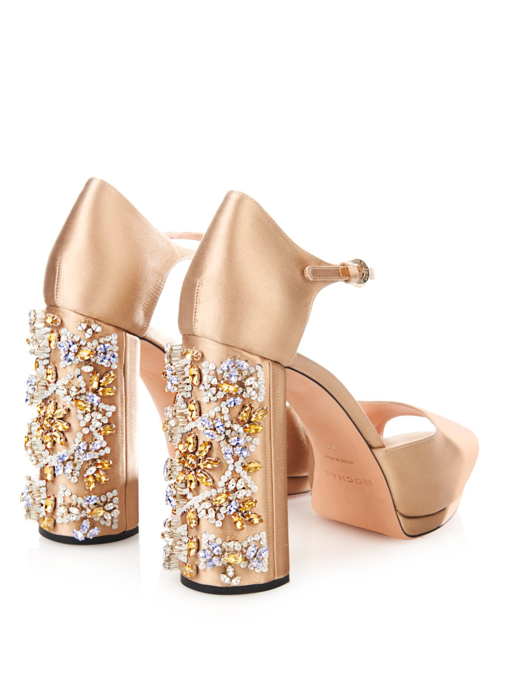 new product c6636 46232 scarpe rochas
