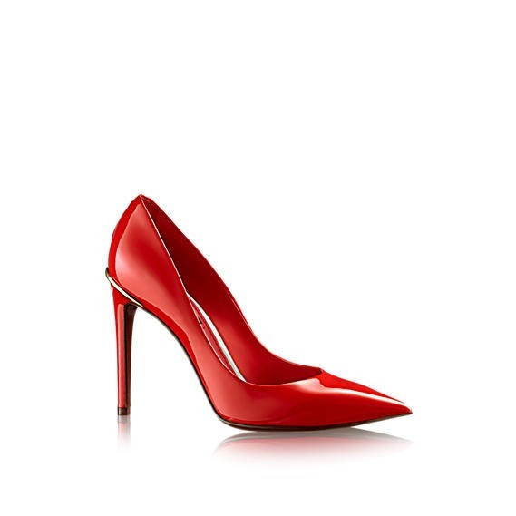 decollete-rossa-louis-vuittonscarpe magazine