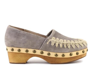 Swood clog closed heel vintage leather  € 199,00