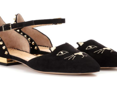 Ballerine Kitty by Charlotte Olympia