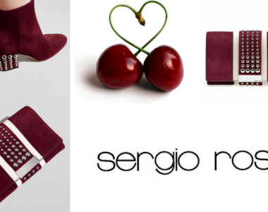 Sergio Rossi: le borchie e il color cherry