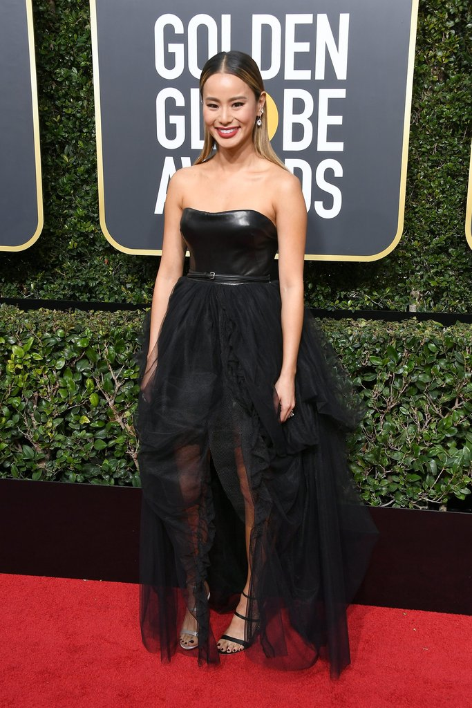 Jamie-Chung-Sophia-Webster-Shoes-Golden-Globes-2018