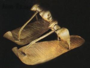 Sandali degli Egizi. Foto da arabpress.eu