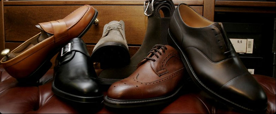 Scarpe uomo differenze fra Francesina, Derby e Mocassino