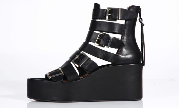 Thetis sandals by Jeffrey Campbell