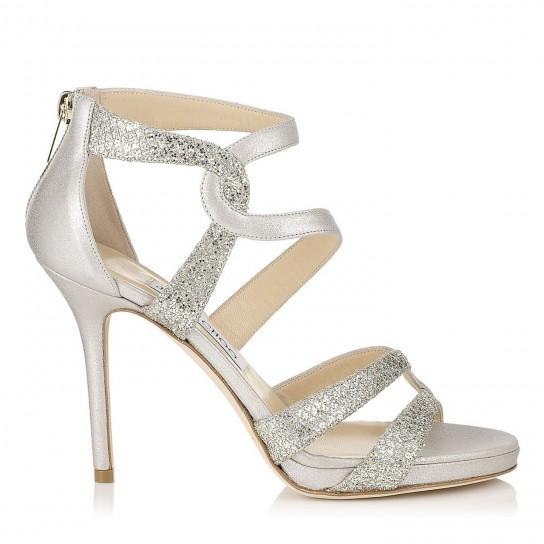 Primo posto: sandali argento