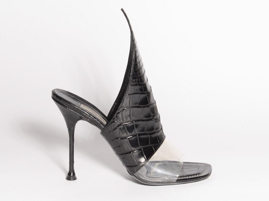 Scarpa croc-style