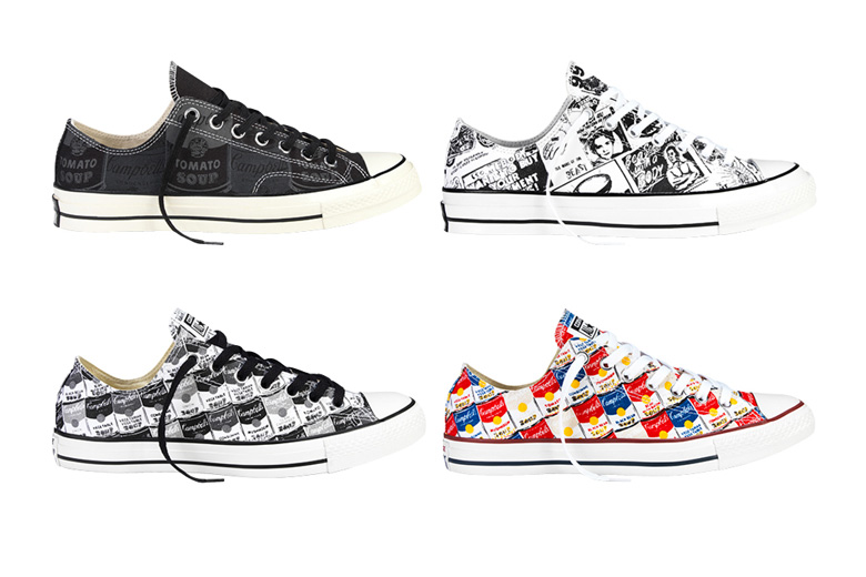 scarpe Converse Andy Warhol