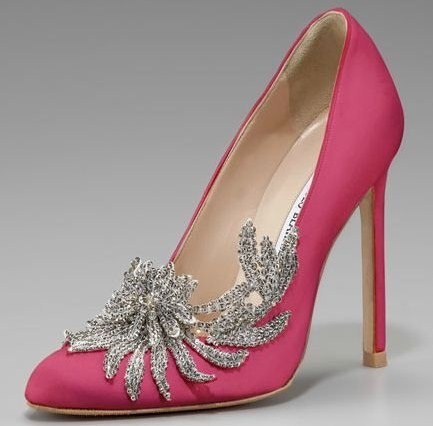 Pumps rosa, by Manolo Blahnik