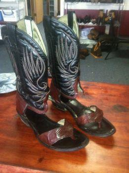 Redneck boot sandal