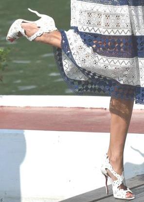 Le scarpe di Alessandra Ambrosio