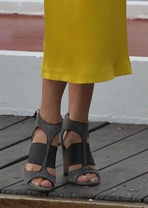 Le scarpe di Elsa Sednaoqui