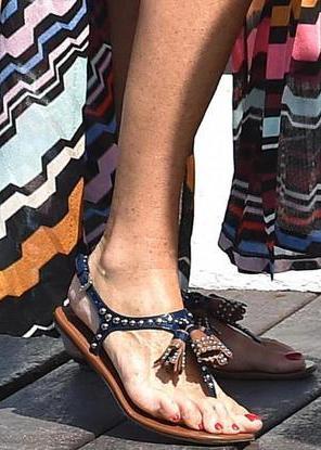 Le scarpe di Paola Ferrari