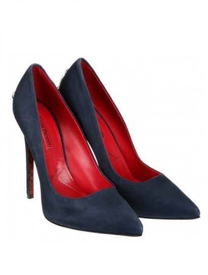 scarpe magazine  pumps-blu-cesare-paciotti