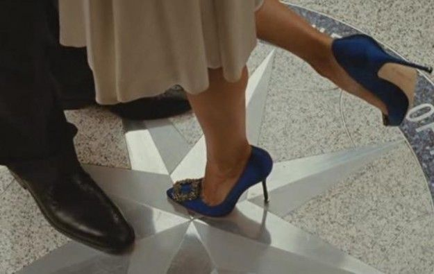 Manolo Blahnik in Sex and the City, Il film