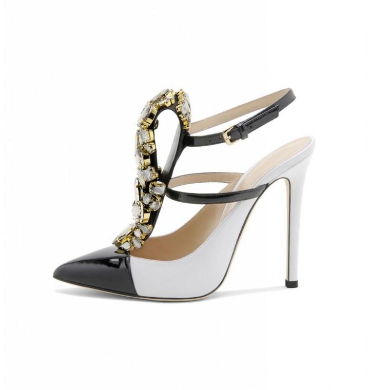 pumps-bicolor scarpe magazine scarpemagazine