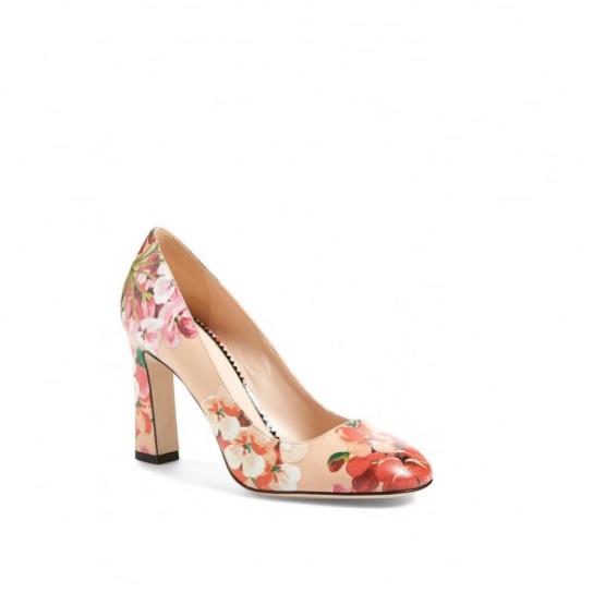 pumps fiorate scarpe magazine