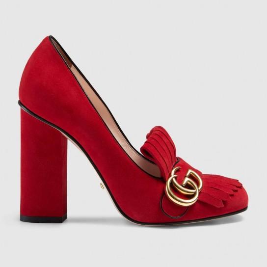 pumps-in-suede-gucci. scarpe magazine jpg