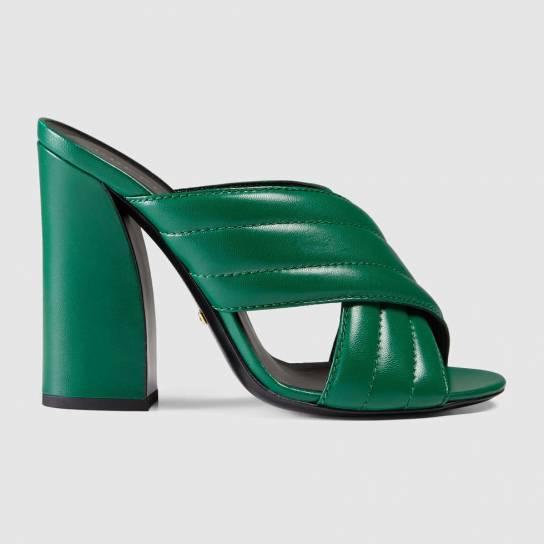 sandali-verdi-gucci. scarpe magazine jpg