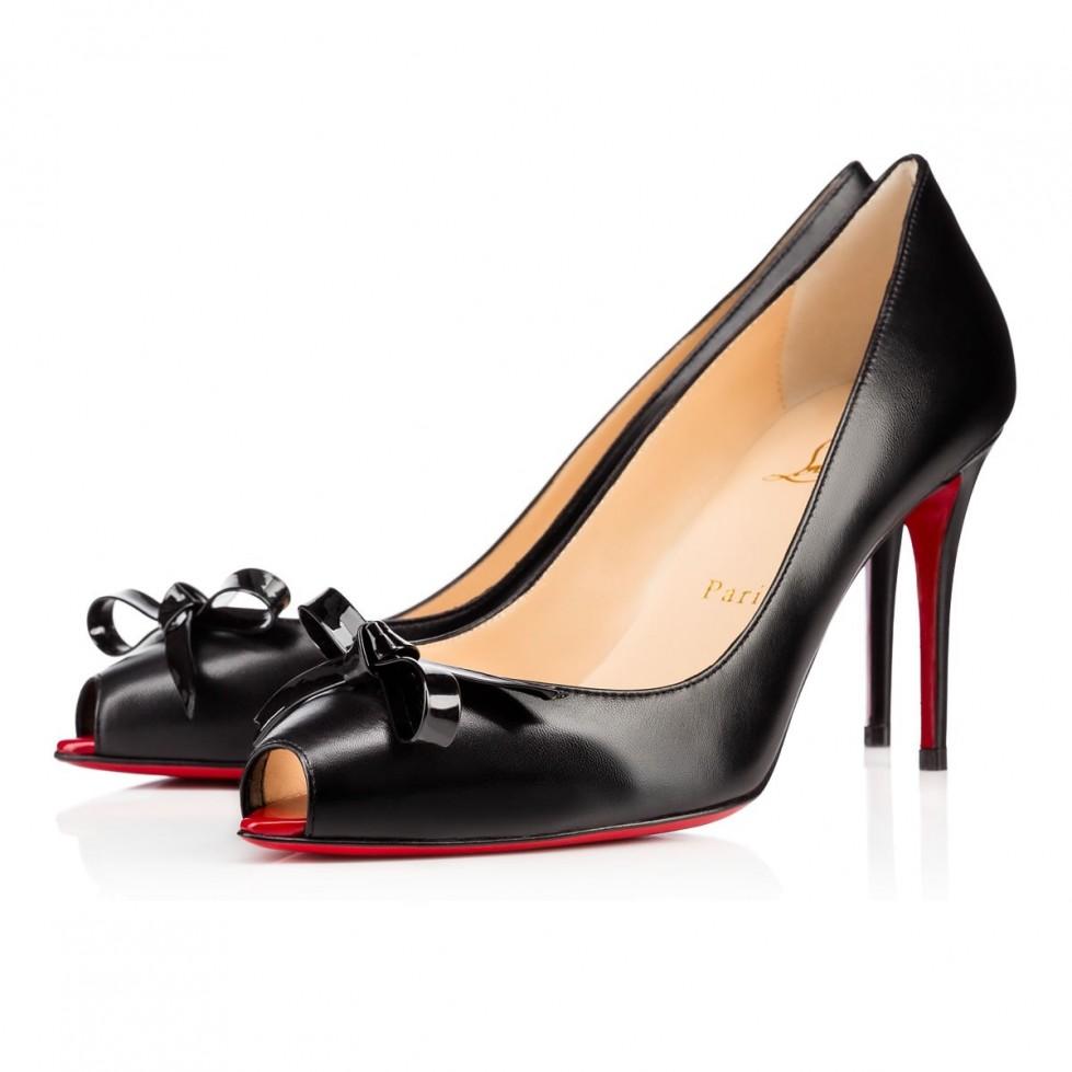peep-toe-con-fiocco scarpe magazine