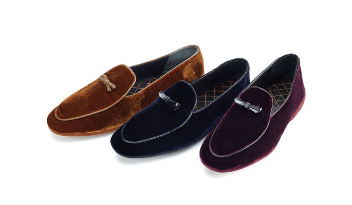 scarpe uomo velluto