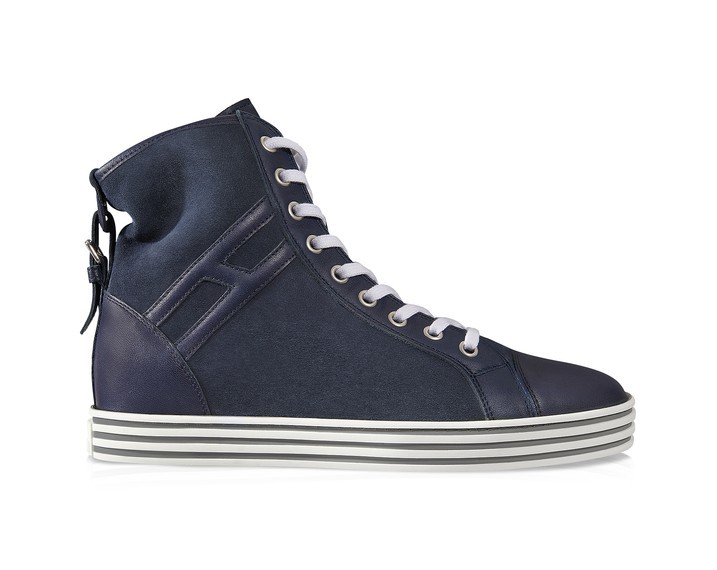 sneakers-scarpe magazine.blu-alte