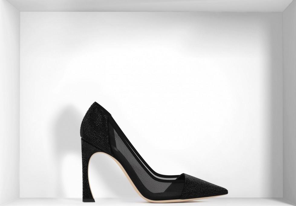 decolletes-effetto-mesh-nere scarpe magazine
