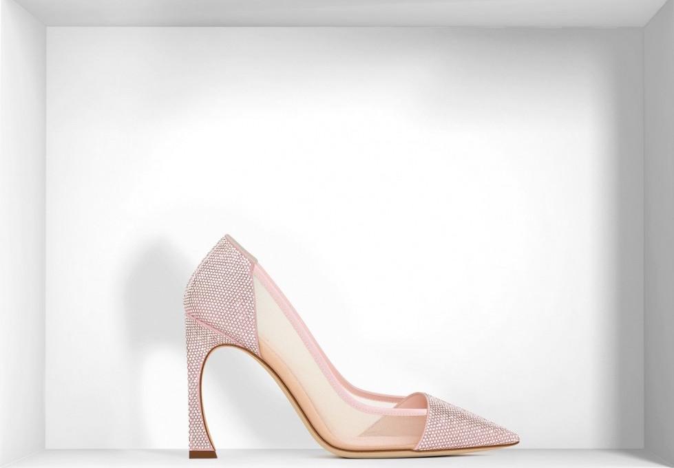 decolletes-effetto-mesh-rosa scarpe magazine