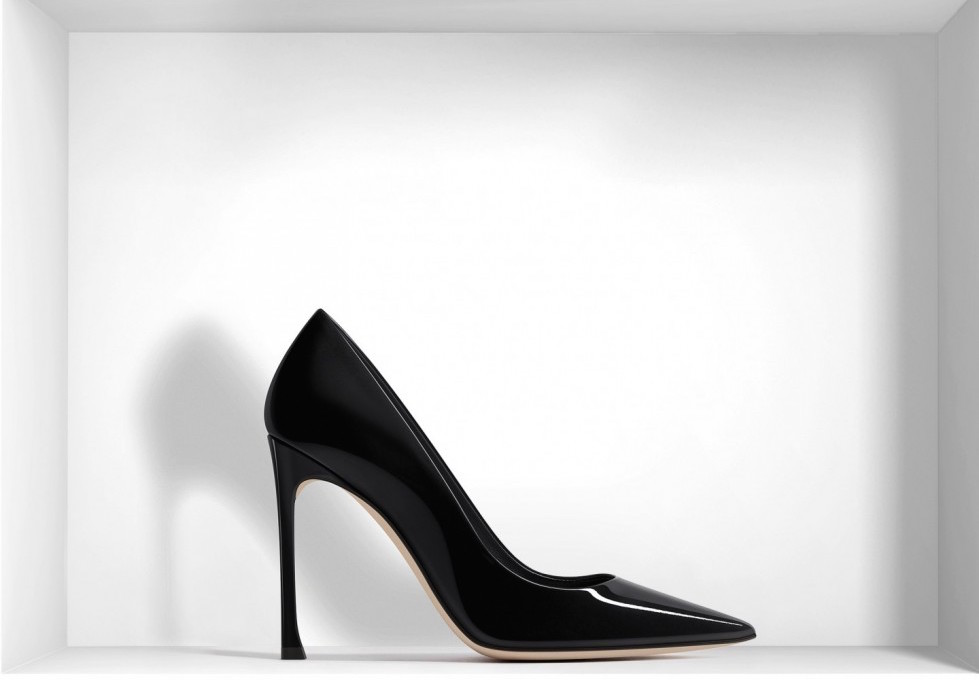 decolletes-in-vernice-nera-dior scarpe magazine