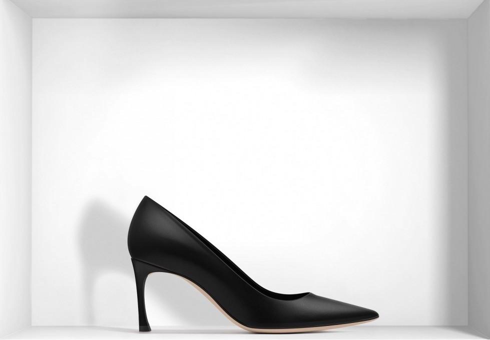 decolletes-nere-in-pelle scarpe magazine