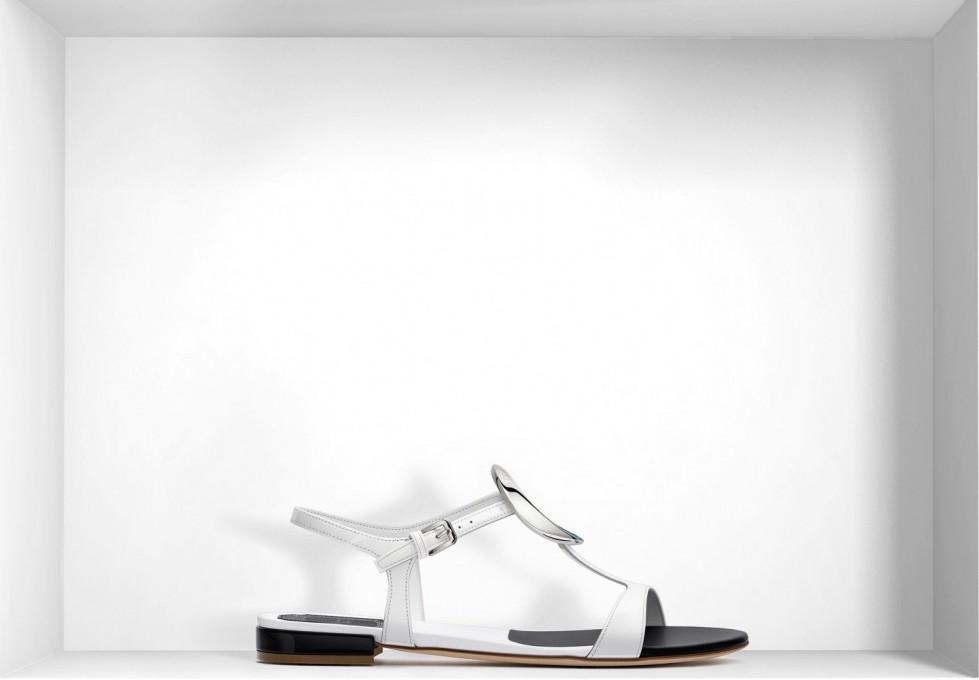 sandaletti-flat-bianchi scarpe magazine
