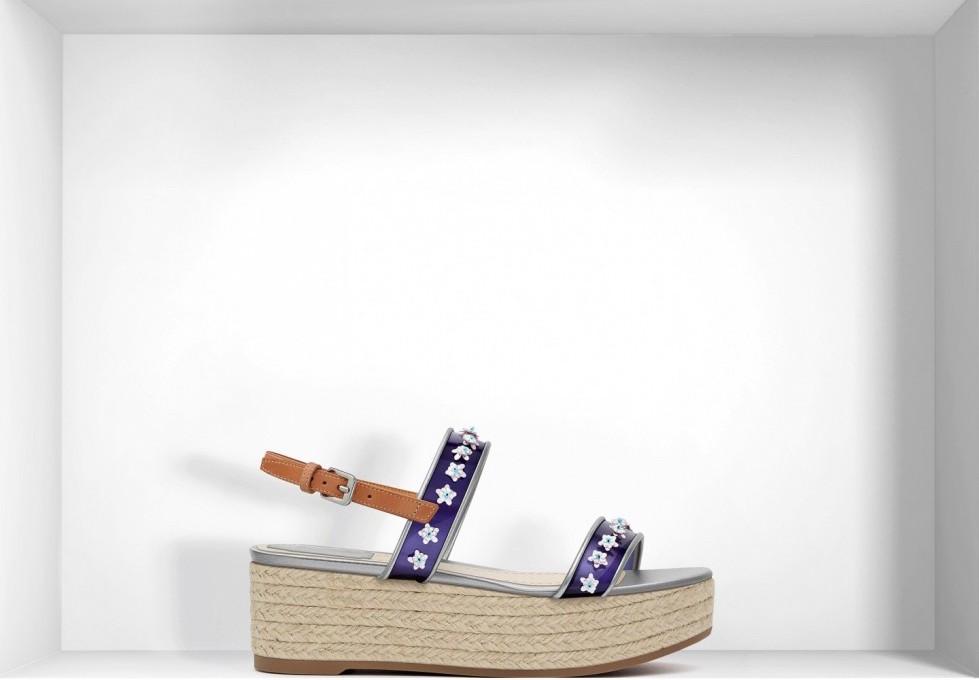sandali-platform-blu-in-vinile scarpe magazine scarpe magazine