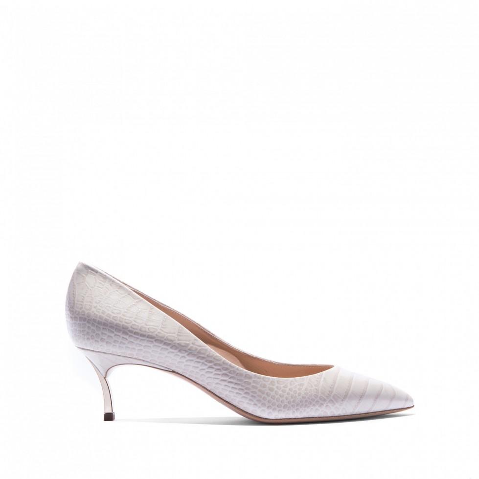decolletes-stampa-rettile-tacco-gattino scarpe magazine
