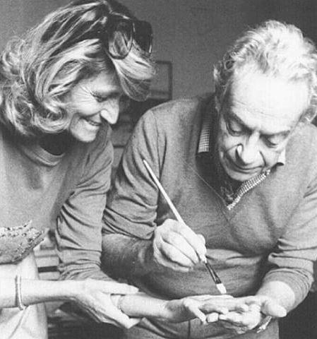 Marta Marzotto e Renato Guttuso
