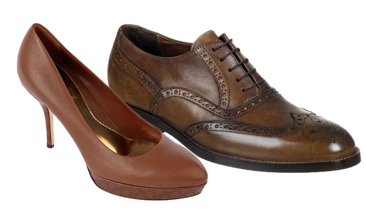 scarpe marroni