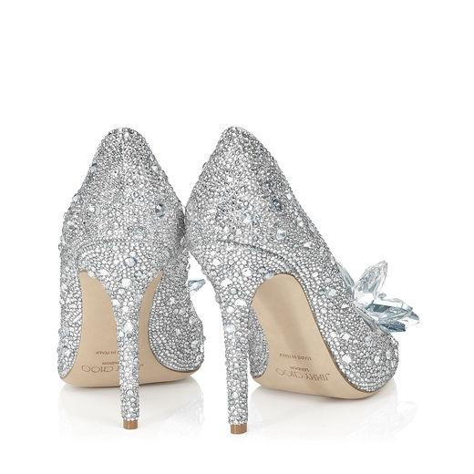Cinderella heels cristal