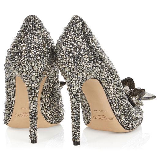 Cinderella heels black