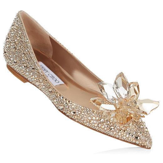 Cinderella ballerina gold
