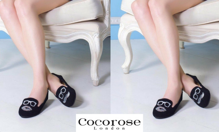 Carnaby Mr & Mrs Black Suede di Cocorose London