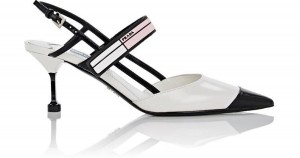 prada-WHITEBLACKBROWN-Spazzolato-Leather-Slingback-Pumps