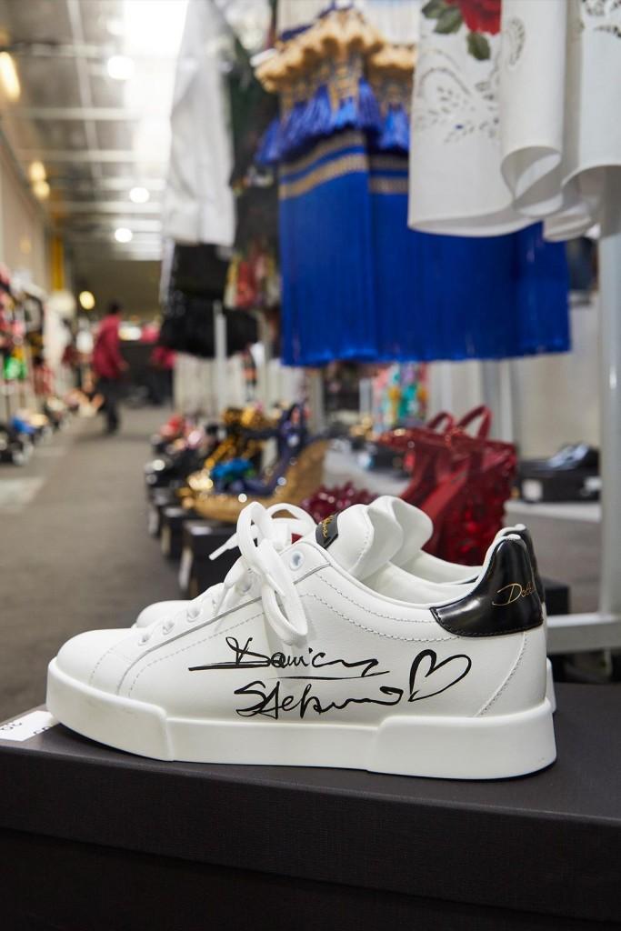 Esposizione Sneaker Limited Edition Dolce&Gabbana in negozio