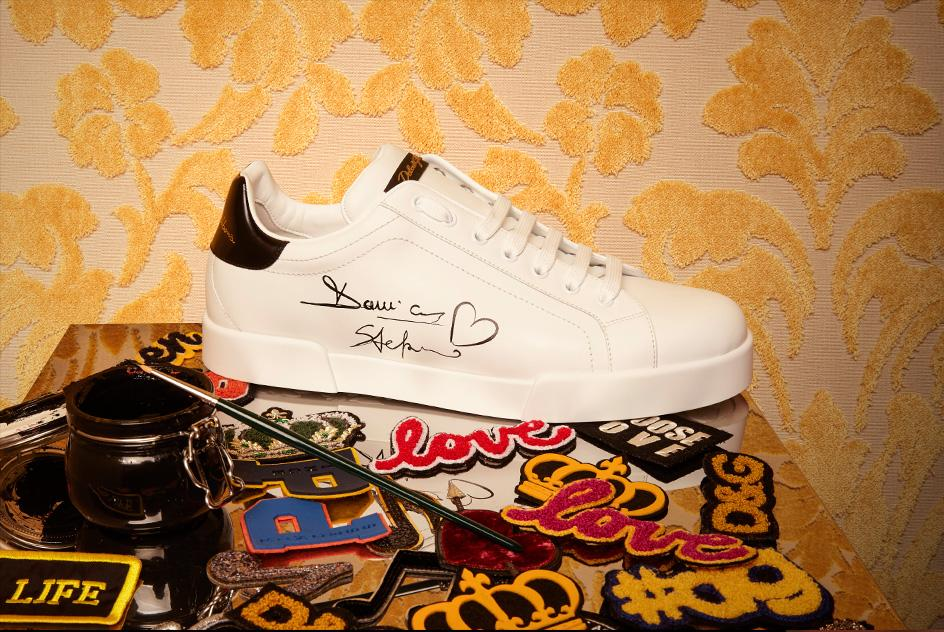 Sneaker Limited Edition Dolce&Gabbana con patch