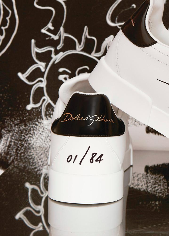 Sneaker Limited Edition Dolce&Gabbana tacco personalizzato