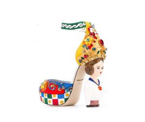 Scarpa scultura D&G donna sicula