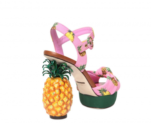 Scarpa scultura D&G Ananas
