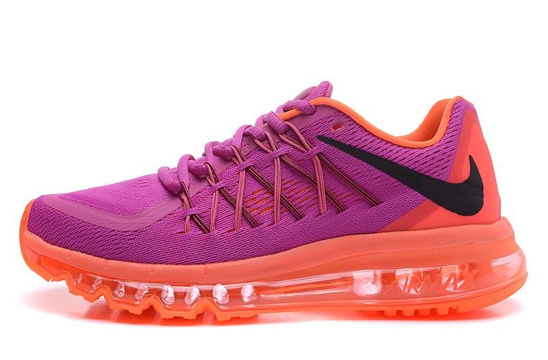 Scarpa sportiva fucsia e arancione