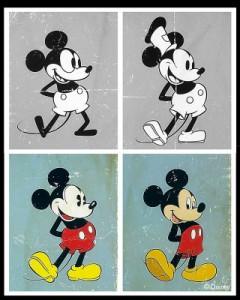 L'evoluzione di Mickey Mouse